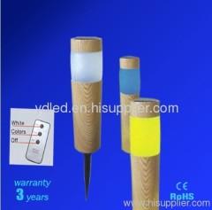 Solar Garden Light;led Plastic Garden Light