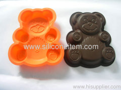 Teddy Bear Birthday Cake Moulds