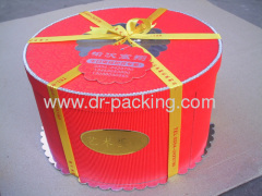 Round Gift Paper Packaging Boxes