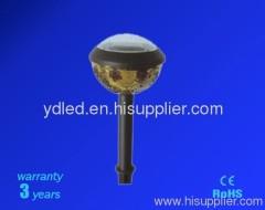 Fashionable led plastic solar light;led solar garden lamp