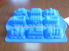 Train Silicone Cake Moulds