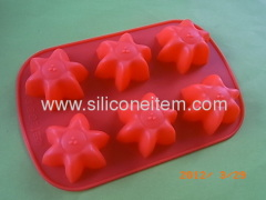 Star Silicone Cake Mould