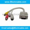 VGA to TV converter, VGA To S Video RCA Cable