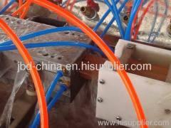 wood plastic composite profile production line