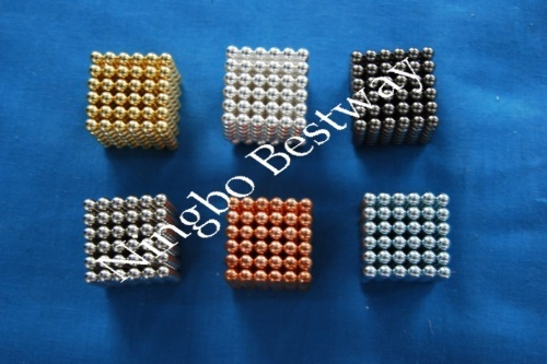 Color Magnetic Balls