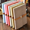 Classic Envelope Note Book Leather Diary Folder Cover Case for ipad2 New Pad3