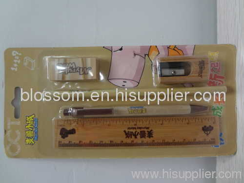 Chinese Blossom Stationery ket with blister card