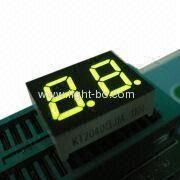 7 Segment dupla dígitos 0,4 polegadas verde super LED