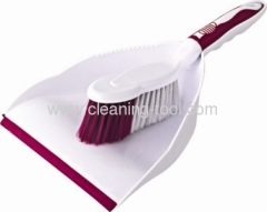 Red Househould Dustpan And Brush