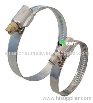 Germany type worm drive hose clamps