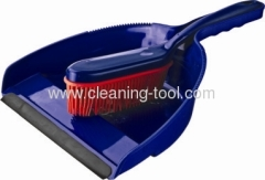 Purple Plastic Dustpan And Brush