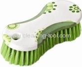 Green Beautiful Long Handled Scrub Brush
