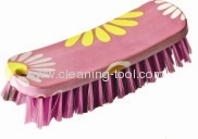 Pink Flower Scrubbing Brush