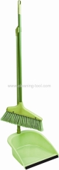 Light Green Dustpan And Broom