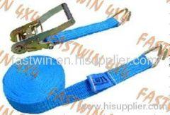 Blue double J hooks Tie Down
