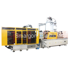 PET preform injection molding machine, preform take-out robot, high preform quality