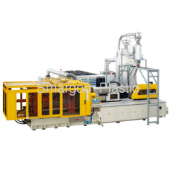 PET preform injection molding machine, for standard PET preform weight below 46g, preform take-out robot, perfect run