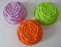 Large Sunflower Birthday Cake Silicone Mould