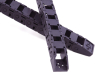 plastic black nylon safety chain