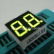 супер яркий зеленый 0,36 дюйма двойной цифра 7-сегментный LED дисплей
