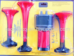 radiant iran air horn with electric machine 3 pipes vehicle truck parts