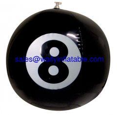 lucky 8 beach ball, black beach ball, beach ball supplier, beach ball China, Beach ball Producer, beach ball factory
