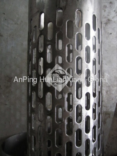 Stainless Steel Perforated Pipe Hlx 84 Manufacturer From