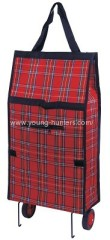 600D POLYESTER wheeled trolley bag