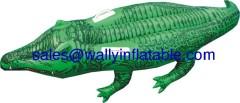 inflatable crocodile rider, inflatable animal floats, inflatable animal rider, inflatable float rider