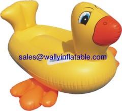 inflatable duck, inflatable duck rider, inflatable duck float, inflatable duck toy