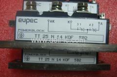 EUPEC Thyristor Modules TT 25N14KOF