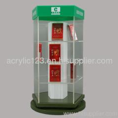 acrylic cigarette display box