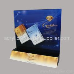 acrylic cigarette display shelves