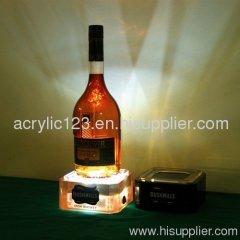 Acrylic display rack wine