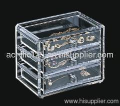 acrylic jewelry display showcase