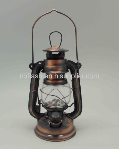 Led 12 Lamp Emergency Light Lantern Hanging Antique Rustic
