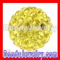 loose shamballa beads with swarovski Crystals Beads wholesale