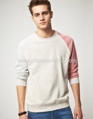 Contrast Rib Sweatshirts