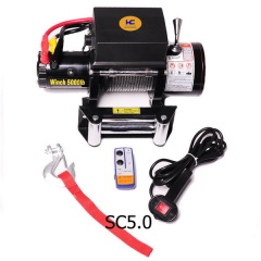 12v electric winch 5000lb