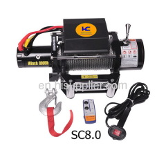 4WD heavy duty winch 8000lb