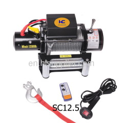 winch for car 12500lb