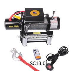 13000lb electric winch 12v