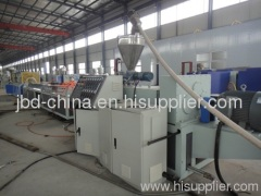 Wood and plastic composite profile production line