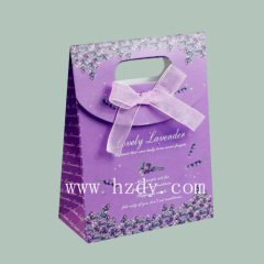 PURPLE gift paper bag