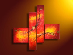 Handpainted Abstract Art Pictures