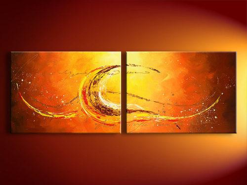 Handmade Art Abstract Oil Paintings