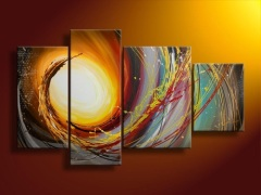 Handmade Oil Painting Canvas Abstract