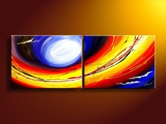 Handmade Abstract Decoration Oil Painting