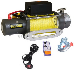 Electric winch for car