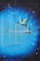 peace pigeon garden flag